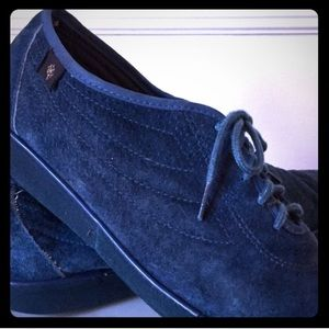 Vintage Blue Suede Shoes